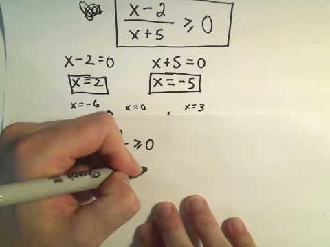 Finding Domains of Functions Involving Radicals (Square Roots to be More Precise!) - Example 1