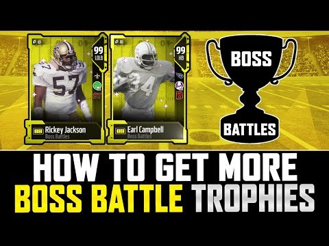 How To Get MORE Boss Battle Trophies   Big Coin Giveaway TONIGHT?   MUT 18
