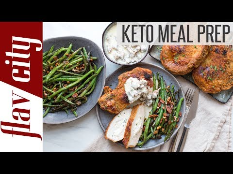 Keto Bodybuilding Meal Prep - Low Carb Keto Bulk/Shred Recipes