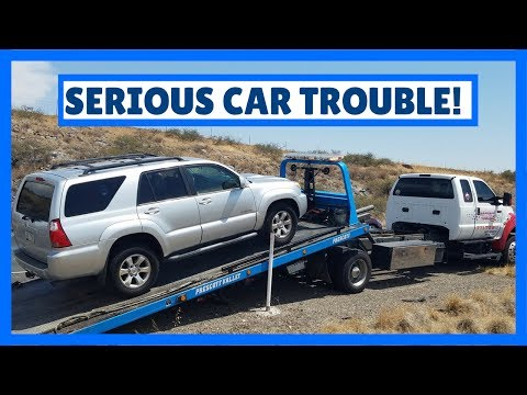 Our Car Breaks Down On Vacation !!! 🚗