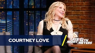 Courtney Love Will Co-Write a Memoir Using Her Wikipedia Page