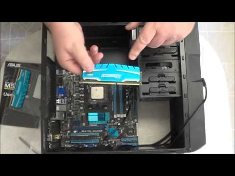 Building a PC: Installing System Memory