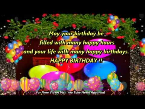 Happy Birthday Hindi Wishes Quotes Sms Greetings E Cards