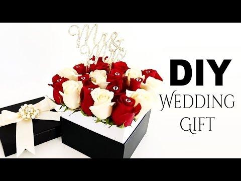 Hat Box Flowers - DIY Elegant Roses Wedding Gift