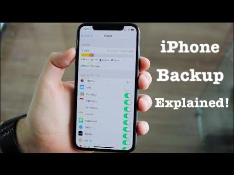 iPhone Backup Explained!!