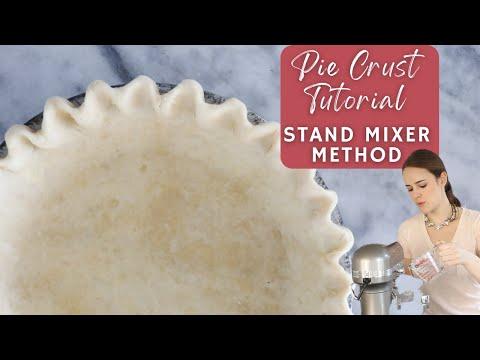 Pie Crust Tutorial: Stand Mixer Method