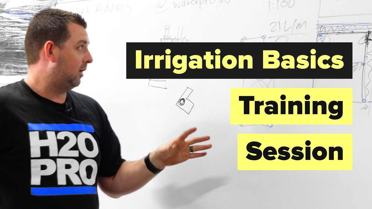 Irrigation Training With Waterpro - Learn The Basics of Irrigation