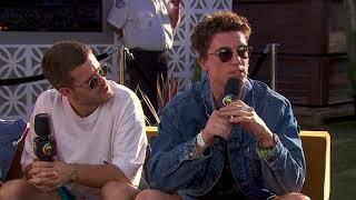 LANY Interview - Coachella 2018