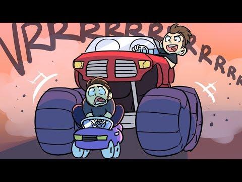 Monster Truck VS Tiny Car | GTA 5 Online Funny Moments