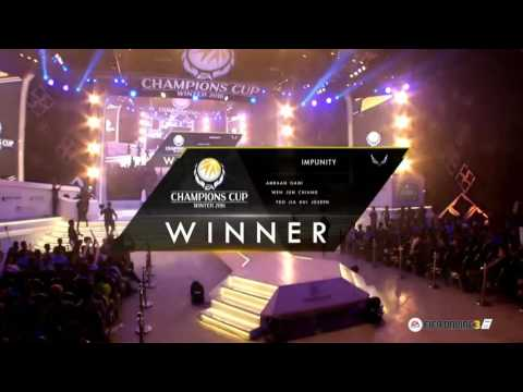 Team Impunity (Singapore) --- 2nd Runner up for EA Champions Cup Winter 2016