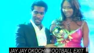 JAY JAY OKOCHA EXIT FOOTBALL CELEBRATION - BOLDFACES