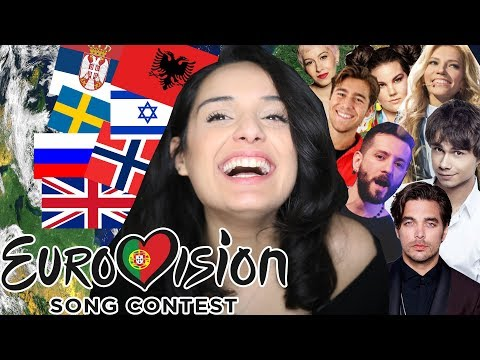 REACTING TO EUROVISION 2018! Norway, Poland, UK, Russia, Bulgaria AND MORE!