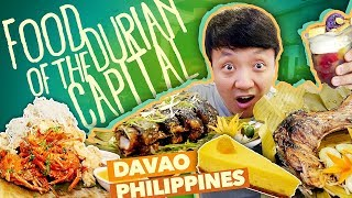 GIANT TUNA TAIL & Filipino Food Tour in Davao Philippines, DURIAN CAPITAL