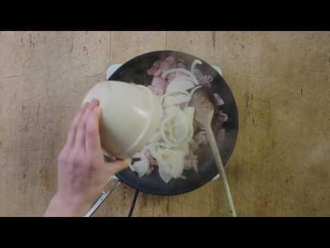 Bacon and Celeriac Tart
