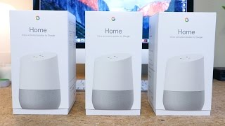 Google Home Unboxing, Setup and First Look
