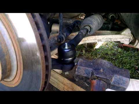 Stuck tie rod removal