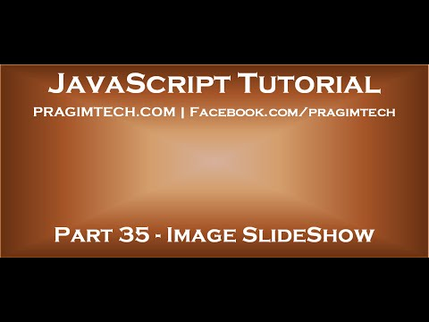 How to create image slideshow using JavaScript