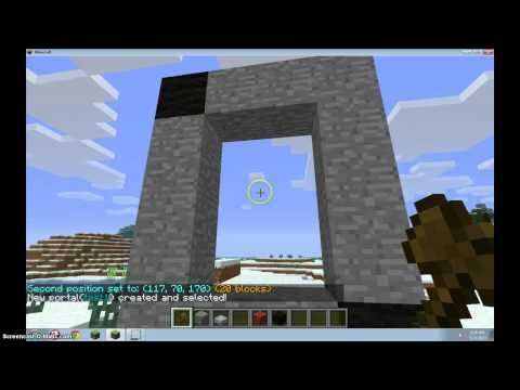 Minecraft: How to make a multiverse portal 1.7.9