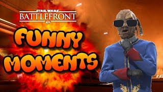 Star Wars Battlefront FUNTAGE (Funny Moments Montage) #33 - Ft. ChanaPlays