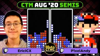 August 2020 CTM - Semifinal 2 - Classic Tetris Monthly