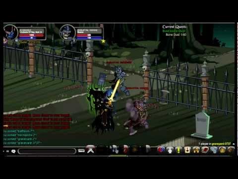 AQW Tutorial - Blinding Light of Destiny Quest Chain Part 1