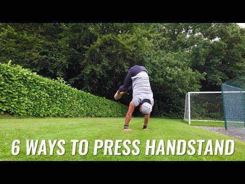 6 Ways to Press Handstand