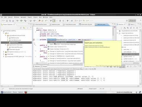 Hibernate Tutorial 15 - mappedBy and Many To Many Mapping