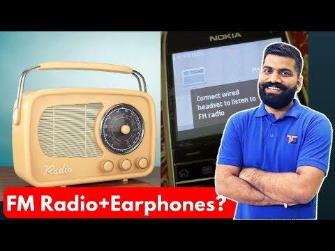 FM Radio with Earphones?? FM in Smartphones? AM Radio & FM Radio Antenna?
