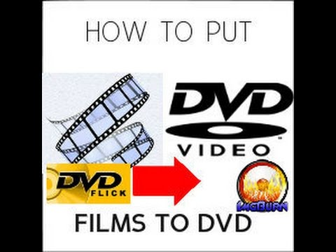 How To Burn A Movie File To A DVD - Burn Video Files to DVD | Play in DVD Player