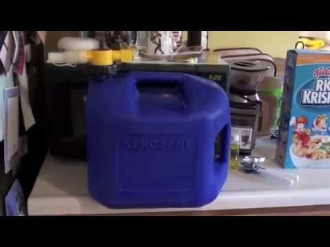 The No-spill Kerosene Can--What I use for Storage