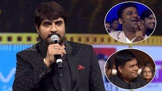 Srikanth Making Fun Of Thaman And Praising Allu Arjun