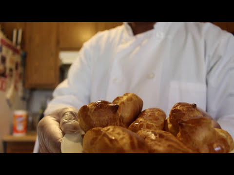 How to make Pate Choux (shells for cream puffs and eclairs) easy!