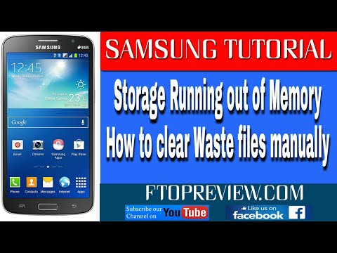 How to Solve Storage Running out of Memory Problem in Samsung Galaxy Mobiles | HINDI