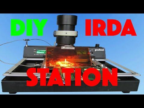IRDA REWORK STATION PREHAT DIY BGA SMD