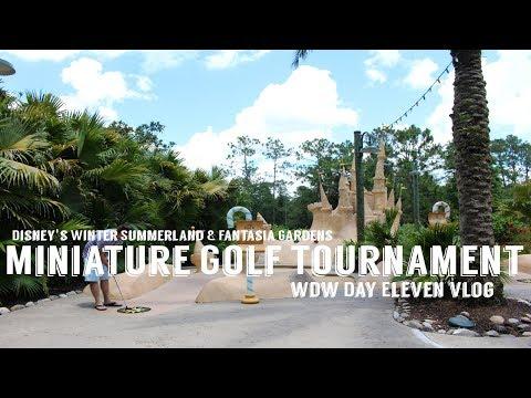 Disney Mini-Golf Tournament Finale!! WDW Day Eleven VLOG! June 2017