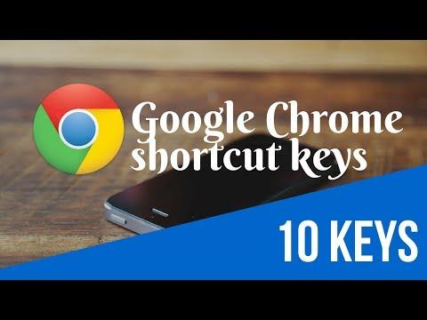 Useful 10 Google Chrome shortcut keys