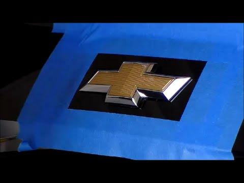 2014 Chevrolet Camaro DIY plastic dip emblem