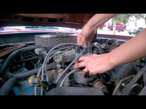 Distributor cap and rotor replacement '69 Ford Mustang