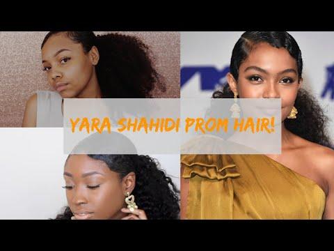 Yara Shahidi Inspired Prom Hair Ft. Amor Antasia!