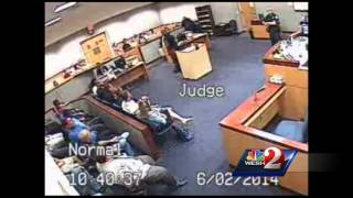 Full Video: Argument Led To Judge Allegedly Punching Lawyer