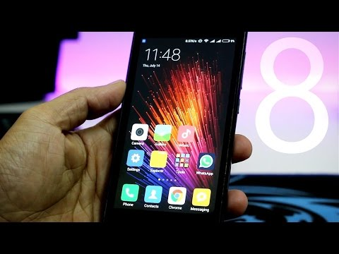MIUI 8 Global Stable ROM - How to install on Redmi 1S/Redmi Note 3/Redmi 2(2S)/Mi4i