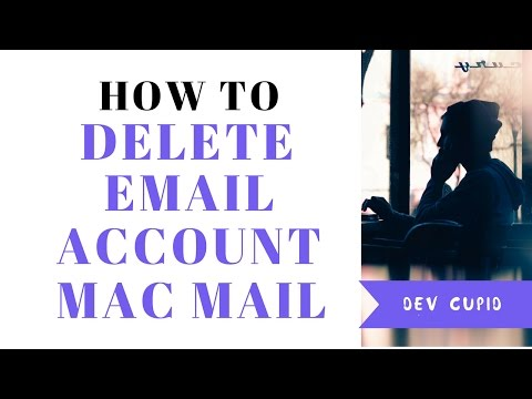 How To Delete Or Remove Email Account In Apple Mac Mail | Quick & Easy