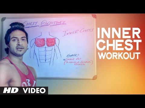 Advanced Technique to Develop INNER CHEST MUSCLE | Health and Fitness | Guru Mann