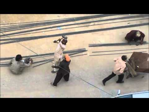 How To Cut Steel Rods Used In Building Construction