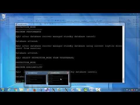 Data Guard - Configuring Data Protection Modes