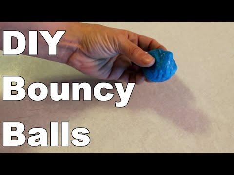 DIY Bouncy Ball - How To - Simple - Easy - Fun