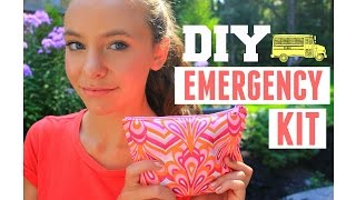 Back To School Girl S Emergency Kit How To Be Prepared