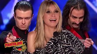 MAGICIANS INJECT A SENSE OF HUMOUR INTO THEIR MAGIC TRICKS Americas Got Talent 2020