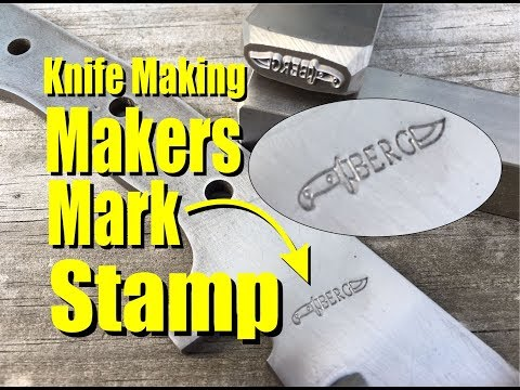 Knife Making Makers Touch Mark Stamp