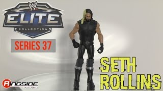 WWE FIGURE INSIDER: Seth Rollins - WWE Elite Series 37 Toy Wrestling Figure